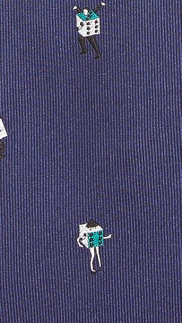 Paul Smith Lady Dice Skinny Tie