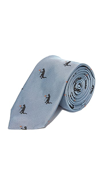 Paul Smith Mini Monster Skinny Tie