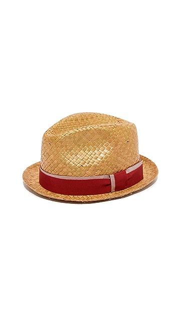 Paul Smith Pandan Straw Hat  89d605d3f206