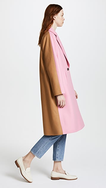 Paul Smith Two Tone Coat