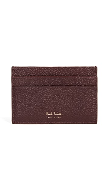 Paul Smith Stripe Webbing Card Case