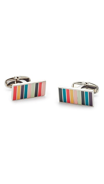 Paul Smith Ministripe Cufflinks