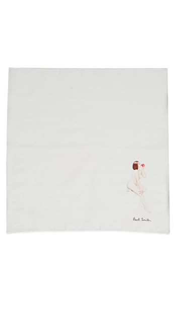 Paul Smith Vintage Lady Pocket Square