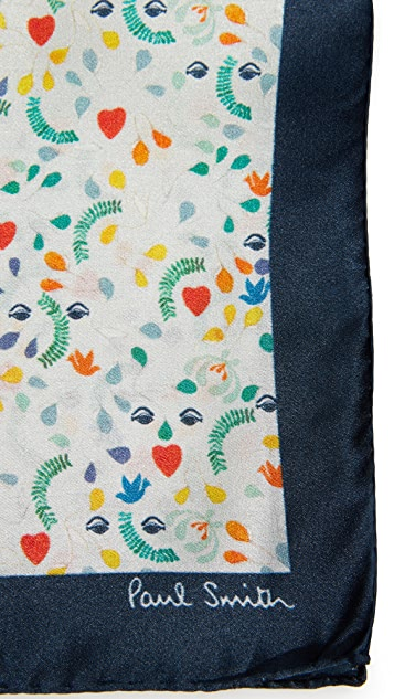 Paul Smith Floral Mainline Pocket Square
