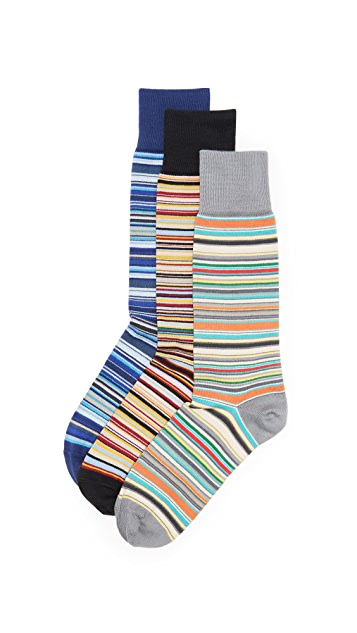 Paul Smith Crew Socks 3 Pack