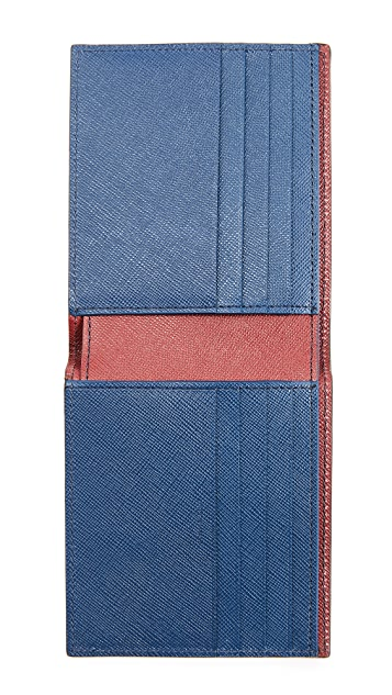 Paul Smith Saffiano Billfold Wallet