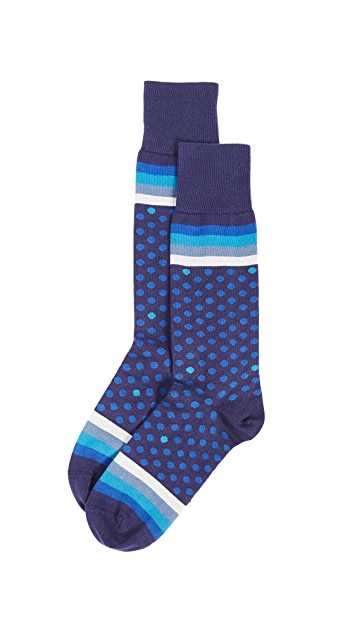 Paul Smith Polka Stripe Socks