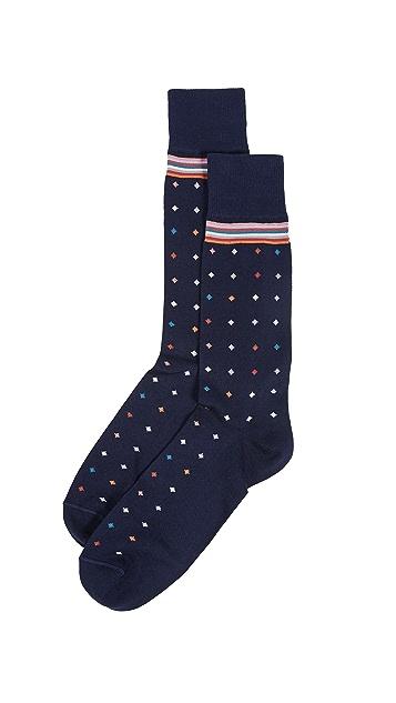 Paul Smith Pin Dot Socks