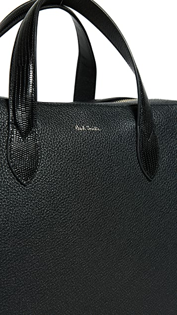 Paul Smith Classic Tech Leather Briefcase