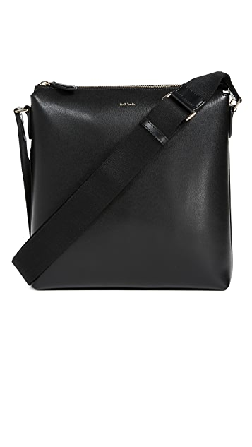 Paul Smith City Emboss Flat Cross Body Bag
