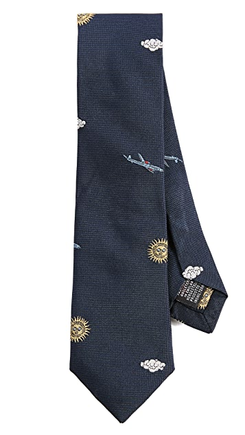 Paul Smith Sun & Clouds Tie