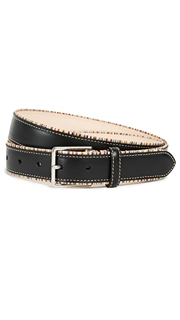 Paul Smith Multistripe Piping Belt