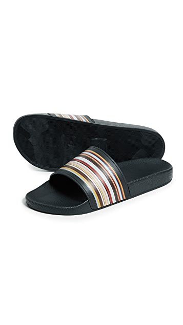 Paul Smith Ruben Stripe Slides