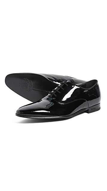 Paul Smith Fleming Patent Lace Up Oxfords