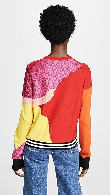 Paul Smith Multicolor Optic Print Sweater