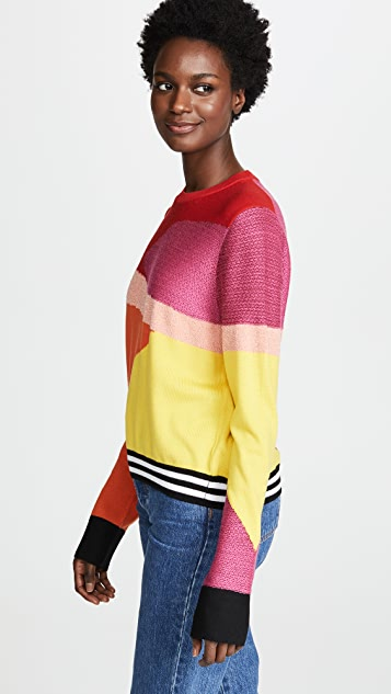 Paul Smith Multicolor Optic Print Sweater