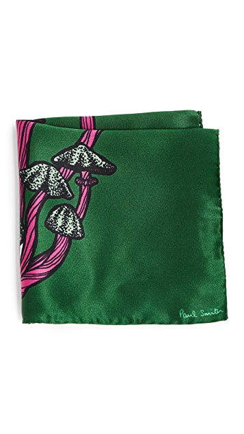 Paul Smith Character Floral Pocket Square