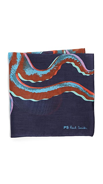 Paul Smith Octopus Pocket Square