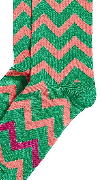 Paul Smith Bright Zag Socks