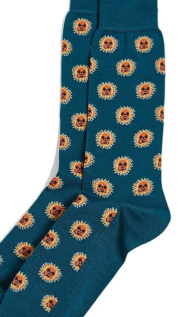 Paul Smith Sun Repeat Socks