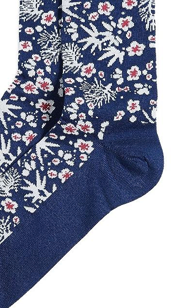 Paul Smith Japanese Floral Socks