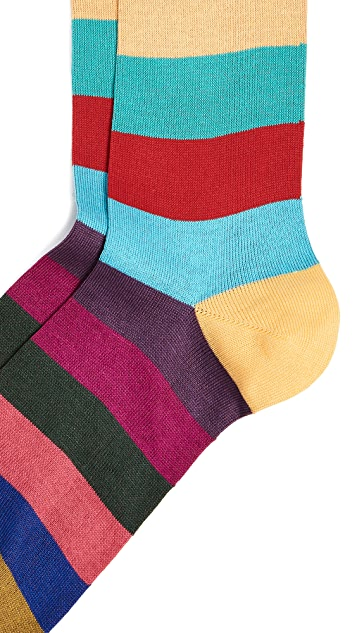 Paul Smith Tie Stripe Socks