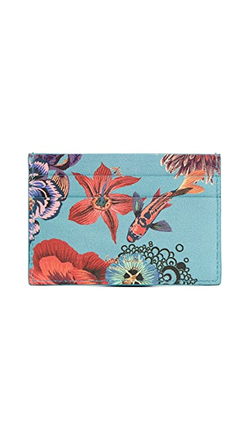 Paul Smith Koi Fish Credit Card Case
