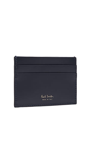Paul Smith Tuna Mackeral Print Card Case