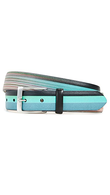 Paul Smith Multi to Artist Print Belt