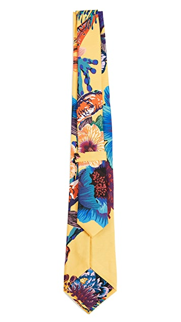 Paul Smith Koi Print 8cm Tie