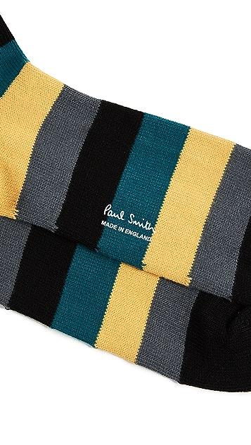 Paul Smith Oatso Stripe Socks