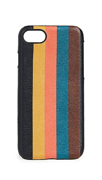 Paul Smith Bright Stripe iPhone 7 & 8 Case