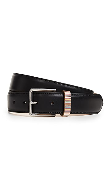 Paul Smith Multistripe Keeper Belt