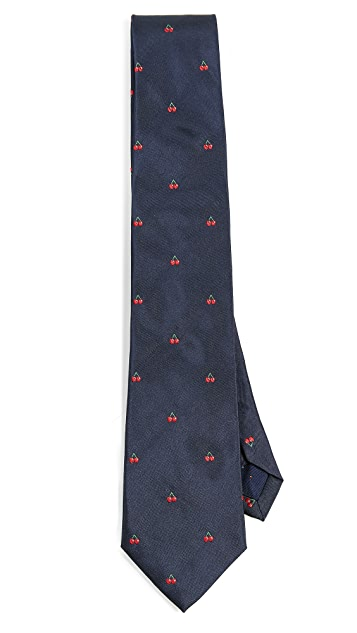 Paul Smith Cherry Print Tie