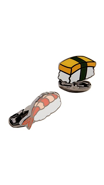 Paul Smith Sushi Cufflinks