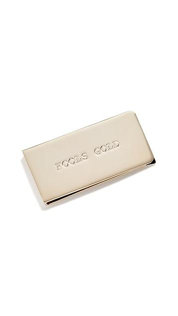 Paul Smith Зажим для банкнот с надписью «Fools Gold»