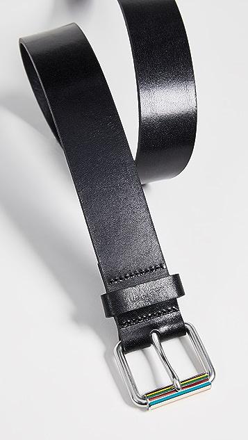Paul Smith Enamel Roller Buckle Belt
