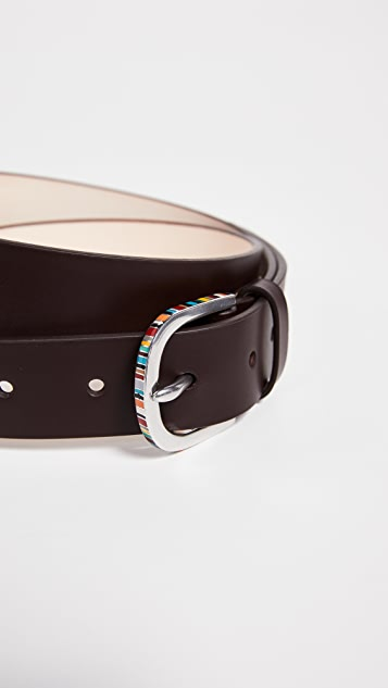 Paul Smith Multistripe Enamel Belt