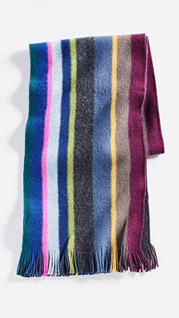 Paul Smith Mike Stripe Scarf