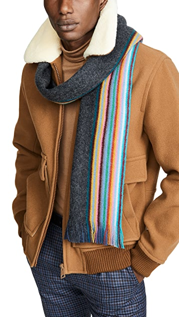 Paul Smith Multi Edge Double Face Scarf