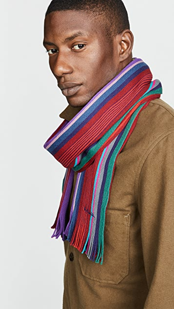 Paul Smith Grande Stripe Scarf