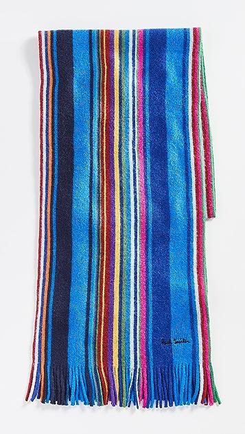 Paul Smith Fennel Stripe Scarf