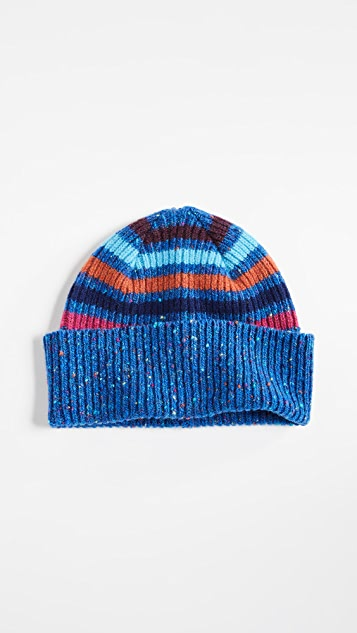 c1aa6f52c12 Paul Smith Donegal Stripe Beanie