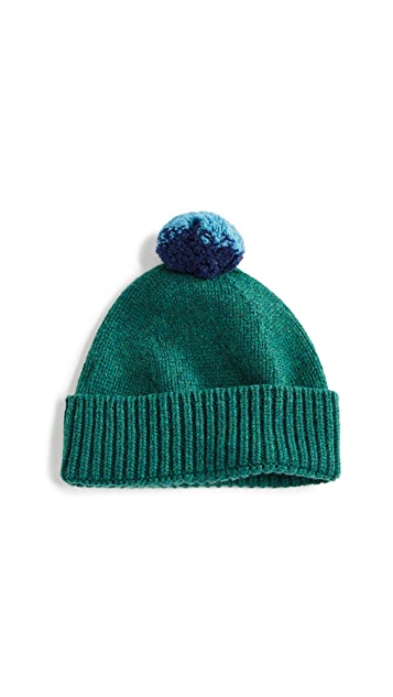 Paul Smith Twisted Pom Beanie