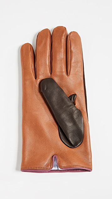 Paul Smith Nappa Suede Gloves