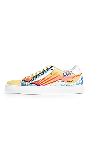 Paul Smith Mackeral Printed Bassom Sneakers