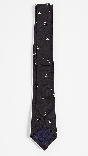 Paul Smith Narrow Martini Tie
