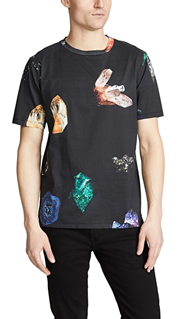 Paul Smith Tee With Crystals