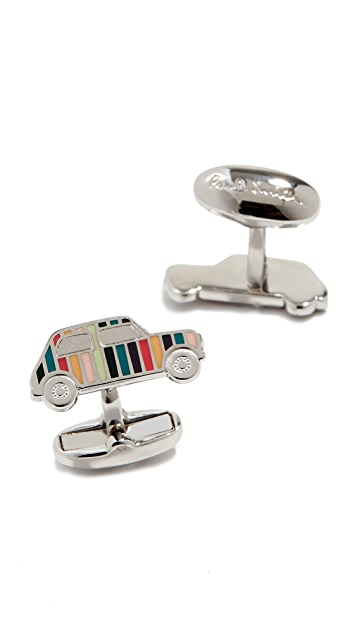 Paul Smith Mini Car Enamel Cufflinks