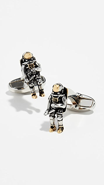Paul Smith Spaceman Cufflinks